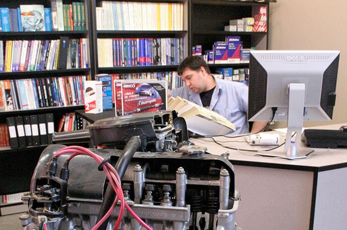 Formation en Conseil et vente de pièces d'équipement motorisé
