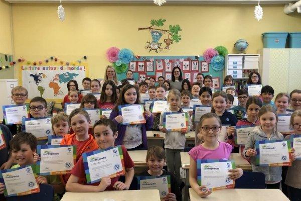 Des chansons pour vivre en harmonie! École primaire Brassard-Saint-Patrice, catégorie primaire 2e cycle